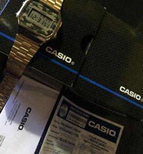 Оригинал часы Casio A168WEGC-3EF