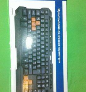 Игровая клавиатура sven 9700 б/у
