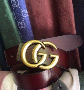 Кожаный ремень Gucci