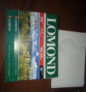Бумага для фото печати