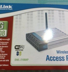 D-Link DWL-2100AP беспроводная точка доступа