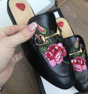 Туфли мюли Gucci новые