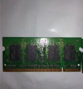 Оперативная память Samsung DDR2 667 SO-DIMM 1Gb