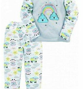 Пижамка новая нежного цвета