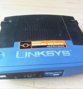 Роутер маршрутизатор Linksys vpn router befvp41