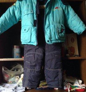 Комбинезоны и куртка