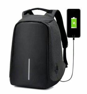 Продам рюкзак с зарядкой для смартфона