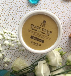 Skinfood Black Sugar mask маска-скраб Чёрный сахар