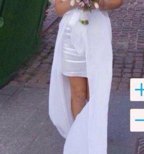 Белое платье на торжественное мероприятие