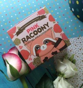 Гидрогелевые патчи Pink Racoony