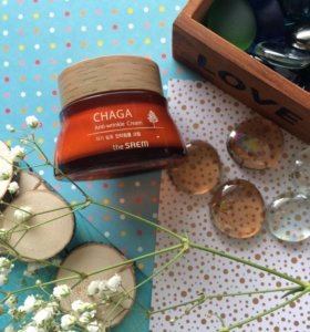 Chaga anti-wrinkle cream The Saem крем от морщин