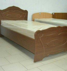 Кровать МДФ новая от производителя.