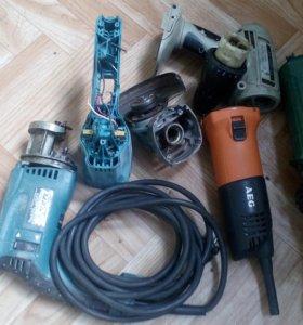 Ушм (Болгарка)DWT ws-125s запч.AEG WS 11-125