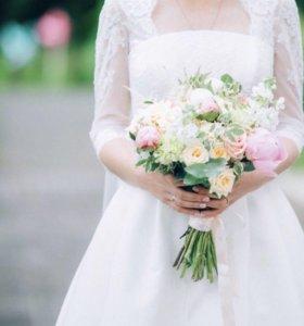 Свадебное платье в английском стиле