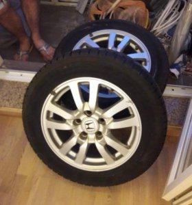 Зимние Колеса от Хонда Аккорд Vlll размер205/60R16