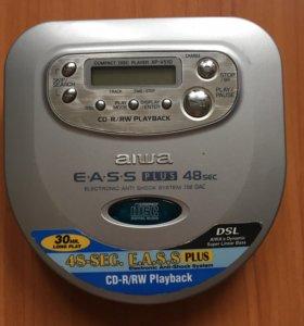 CD плеер Aiwa XP-V510. Made in Indonesia.