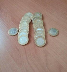 Продам монеты бим мешковые 10 шт 500 р