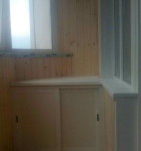 Остекление,отделка балконов,домов,веранд.