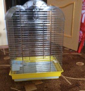 Клетка для попугаев большая 44»33»67