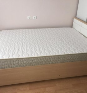 Кровать с матрасом Hoff, Askona 140*200