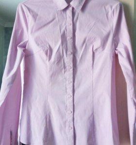 Рубашка розовая новая