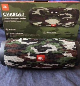 Новая колонка JBL Charge 3