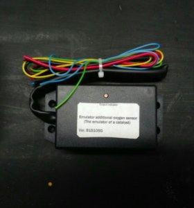 Установка электроного эмулятора исправного катализ