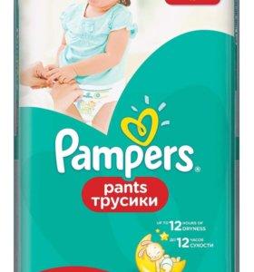 Новые Трусики pampers pants 3, 4 и 5 размеры