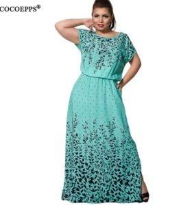 новое летнее платье с вышевкой