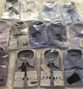 Новые мужские рубашки XL Италия