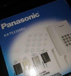 Телефон новый в упаковке panasonic kx-ts2350ru