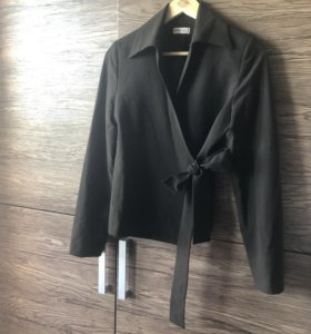 Пиджак темно-коричневый, 44-46 р.