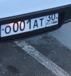 Красивый номер на автомобиль