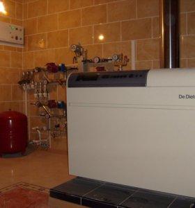 Монтаж систем отопления, водоснабжения, котельные