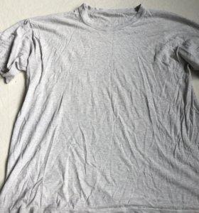 Простая серая футболка