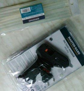Пистолет клей новый