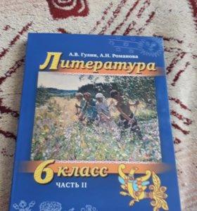 Учебник по литературе 6 класс А.В.Гулин