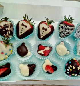 шоколадные подарки, конфеты ручной рыботы