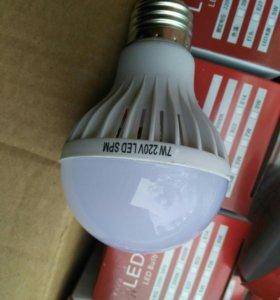 Распродажа... Лампочки  светодиодные LED Е 27 7W.