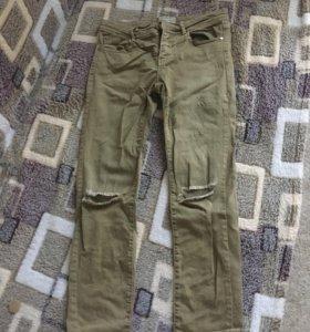 джинсы stradivarius