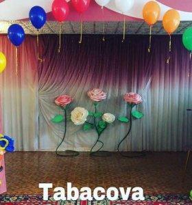 Оформление залов шарами