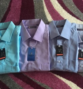 Рубашки мужские с коротким рукавом
