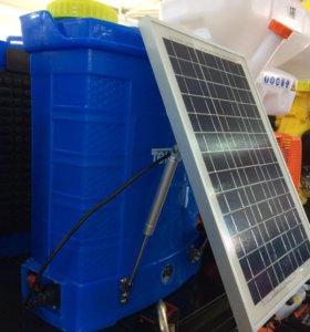 Опрыскиватель аккумуляторный с солнечной батареей
