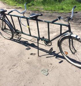 Велосипед тандем
