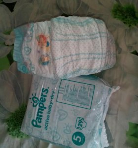 Pampers active- baby dry 5