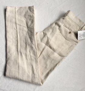 Новые льняные брюки ZARA