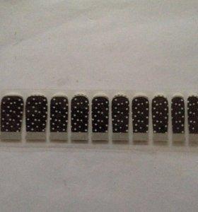 Декоративные наклейки для ногтей 10 шт.