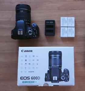 Canon 600D Kit EFS 18-135мм