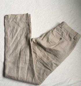 Льняные брюки Celio