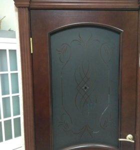 Установка входной и межкомнатных дверей